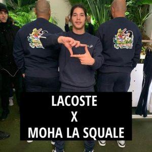 Moha La Squale x Lacoste : Une collaboration très attendue