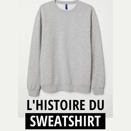 Sweat-shirt : L'histoire de ce vêtement si populaire