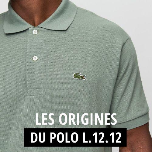 L'histoire du polo L.12.12 de Lacoste