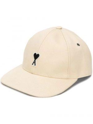 Accessoires casquette à patch Ami de Cœur blanc
