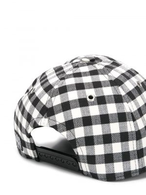 Accessoires casquette à motif vichy