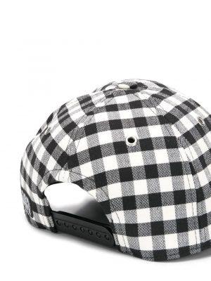 AMI Paris casquette à motif vichy