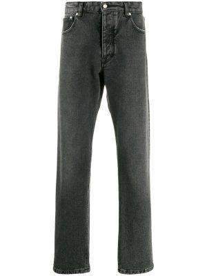 AMI Paris jean droit classique noir