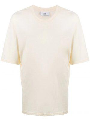 AMI Paris t-shirt à logo blanc