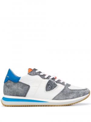 Baskets baskets Tropez blanc/gris