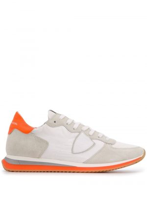 Baskets baskets TRPX Mondial blanc/orange