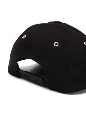 Accessoires casquette à plaque logo noir