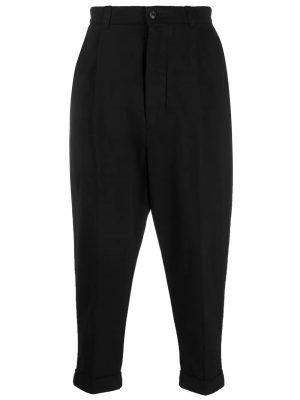 AMI Paris pantalon fuselé crop noir