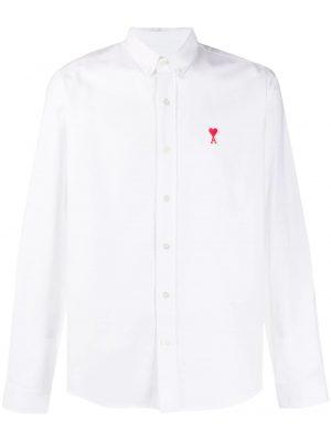 AMI Paris chemise Ami de Coeur blanc
