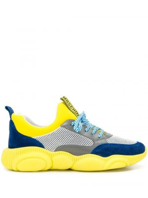 Baskets baskets Teddy jaune bleu