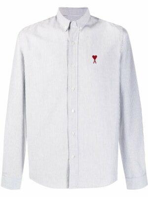AMI Paris chemise à rayures