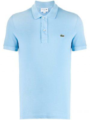 Lacoste polo à logo brodé classic fit bleu
