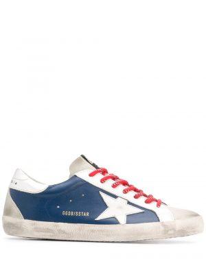 Baskets baskets Superstar bleu
