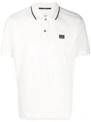 CP Company polo classique blanc