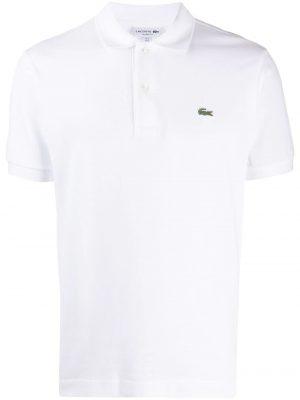 Lacoste polo à logo brodé classic fit blanc