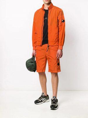 CP Company bermuda à détails de zips orange