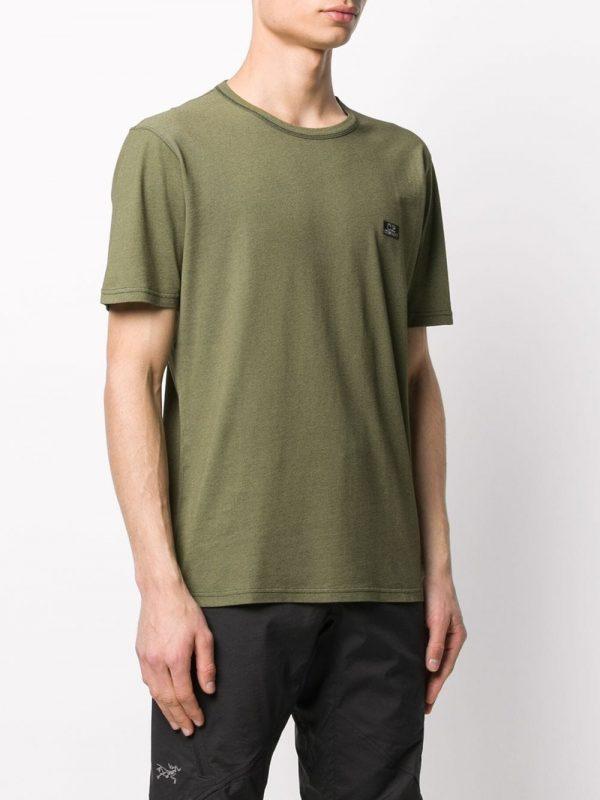 CP Company t-shirt à logo brodé vert