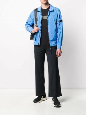 CP Company veste zippée Chrome Lens bleu