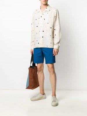 Chemises chemise à motif de pois