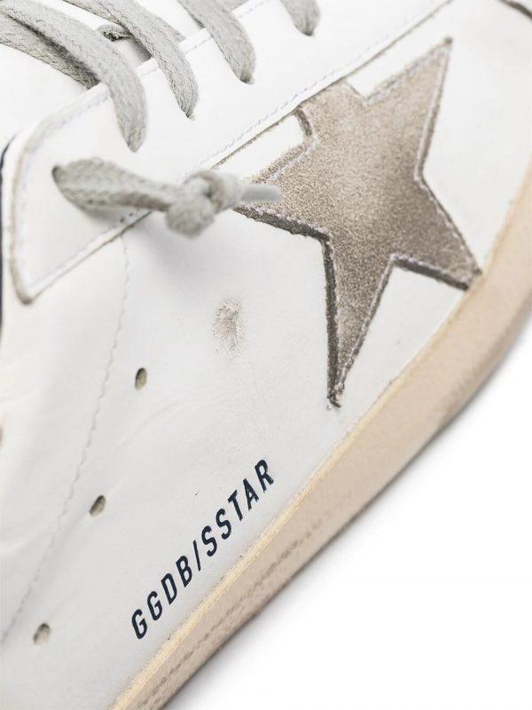 Baskets baskets Superstar blanc/gris