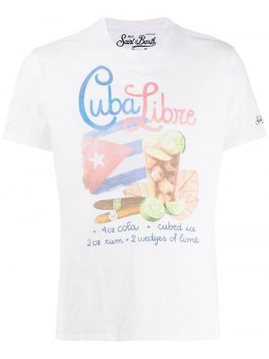 MC2 Saint Barth t-shirt imprimé Cuba Libre