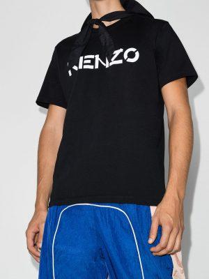 Kenzo t-shirt à logo imprimé noir