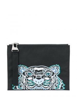 Kenzo pochette à broderies tigre