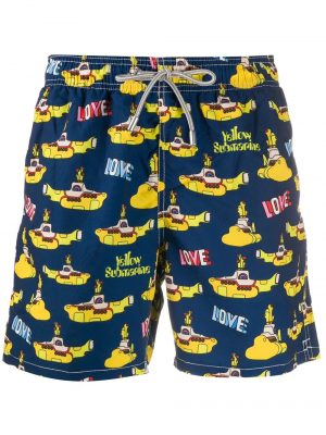 Maillots de bain short de bain Yellow Submarine