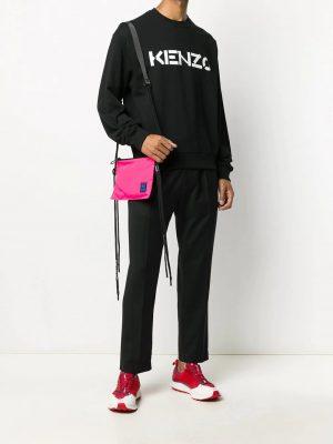 Kenzo sweat à logo imprimé noir