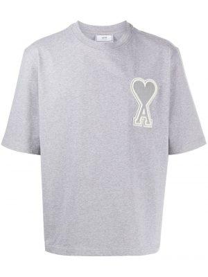 AMI Paris t-shirt Ami de Coeur gris