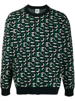 Kenzo jacquard logo cotton jumper
