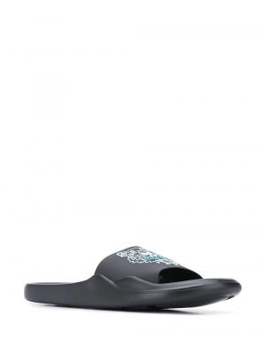 Chaussures claquettes à logo tigre
