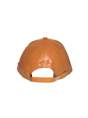 "Accessoires casquette smili cuir ""Nonza"" marron"
