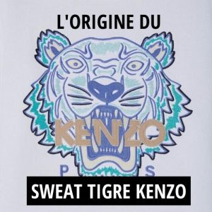 Le Sweat Kenzo Tigre : un vêtement devenu iconique