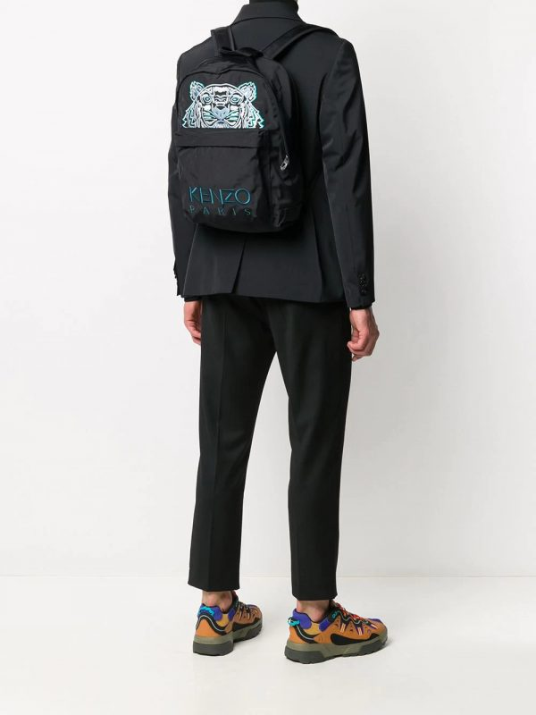 Kenzo sac à dos à logo brodé