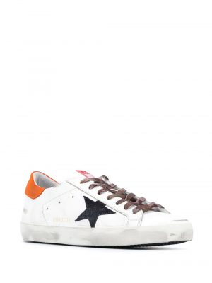 Baskets baskets Superstar orange noir camo