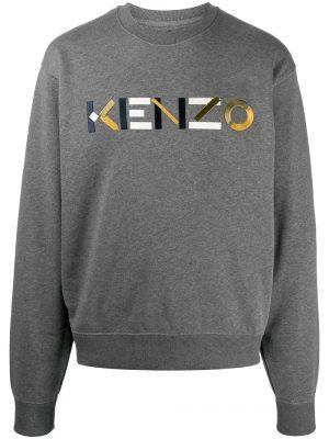 Kenzo sweat à logo brodé