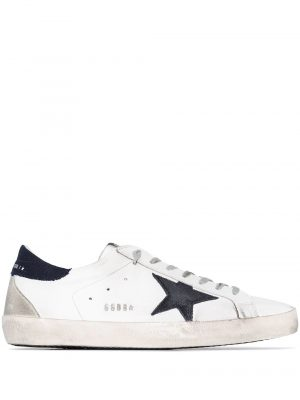 Baskets baskets Superstar blanc/bleu