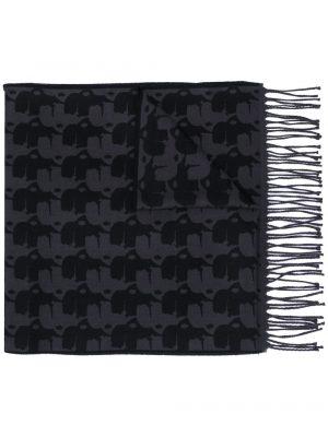 Accessoires écharpe à rayures noir