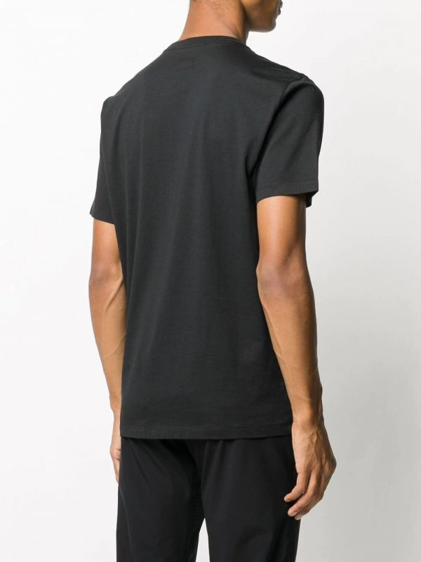 CP Company t-shirt à logo imprimé noir