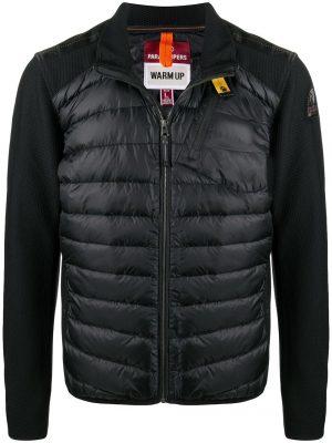 Manteaux doudoune à fermeture zippée – noir