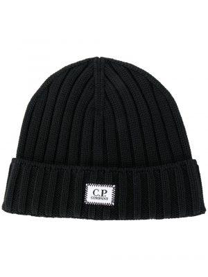Accessoires bonnet en laine côtelée