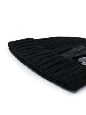 Accessoires bonnet en maille torsadée