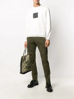 CP Company pantalon cargo vert lierre