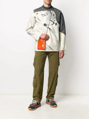 Braderie pantalon à poches cargo
