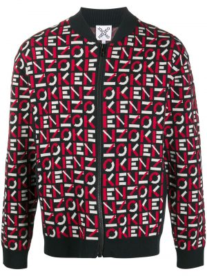 Kenzo Bomber à monogramme sport