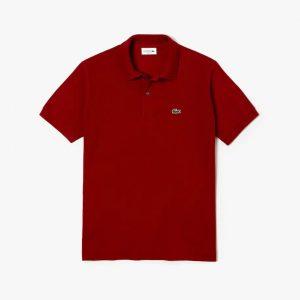 Lacoste Polo classique Lacoste L.12.12 uni rouge