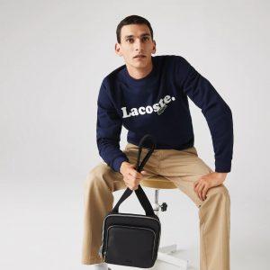 Lacoste Sacoche croisée rectangulaire Men's Classic à poches zippées