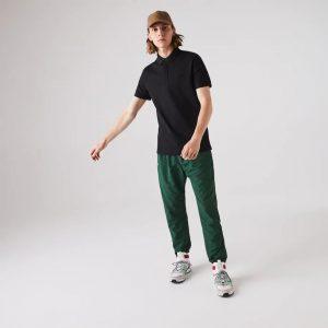 Lacoste Live Paris Polo regular fit Lacoste en piqué de coton stretch gris