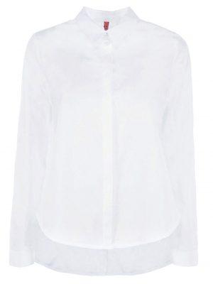 Chemisiers chemise unie asymétrique blanche